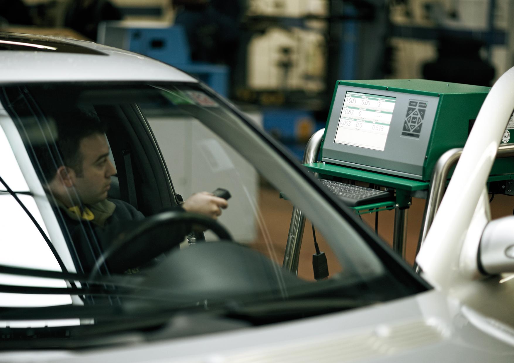 GM3 pentru testarea gazelor de eșapament